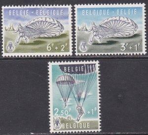 Belgium Sc #B666-668 Mint; Mi #1190-95