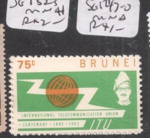 Brunei SG 132-3 MNH (8dep)