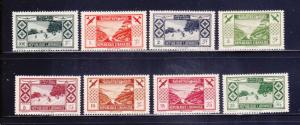 Lebanon C49-C56 Set MHR Air Mail Stamps