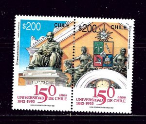 Chile 1034 MH 1992 University of Chile pair