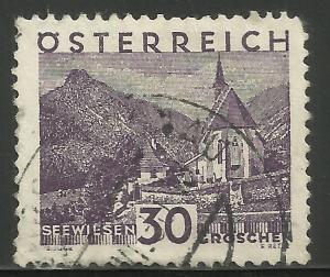 Austria 1929 Scott# 334 Used
