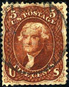 U.S. #75 Used