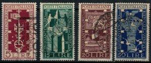 Italy #510-3  CV $5.00