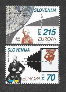 Slovenia 194-195 Mint NH Europa!
