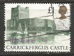 GREAT BRITAIN 1445 VFU CASTLE N949