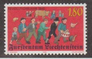 Liechtenstein Scott #1125 Stamp - Mint NH Single