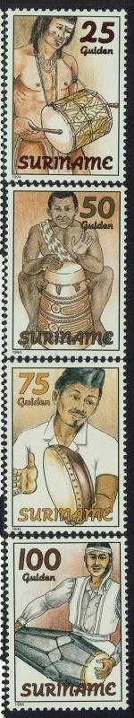 Surinam SC# 965-968, Mint Never Hinged - Lot 052117