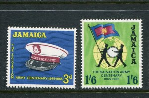 Jamaica MNH 242-3 Salvation Army 1965