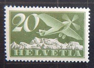 Switzerland, MNH, 1925, Airmail, MC #213 x, (2077-Т)
