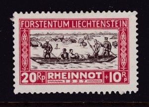 Liechtenstein a MH 20pr from the 1928 Relief set