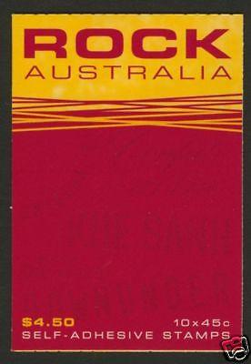 Australia 1953b General Booklet MNH Music, Aircraft, Car, Rock Music, Helicopter