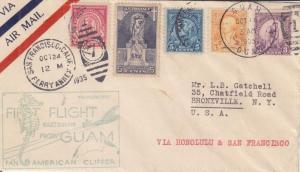 1935, Survey Flt 1234 (Scarce), Guam to San Francisco, CA, See Remark (3766)