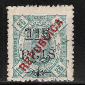 Zambezia Scott 85 used overprint