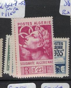 Algeria SC B47-50 MNH (1dqf)