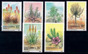 [66237] Zimbabwe 1988 Flora Plants Pflanzen Aloe MNH