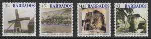 BARBADOS SG1215/8 2002 375th ANNIV OF FIRST SETTLEMENT MNH