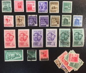Italy and Italian Social Republic LOT (Mint and Used) c1945