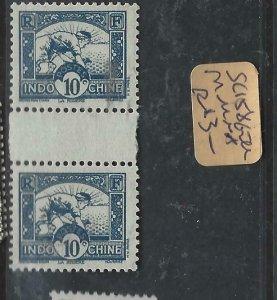 INDOCHINA  (P1107B)  SC 158   GUTTER PR  MNH
