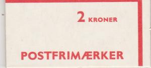 Denmark #544a Complete Booklet (V3434L)