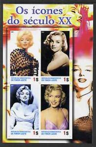 Timor 2004 Icons of the 20th Century - Marilyn Monroe #01...