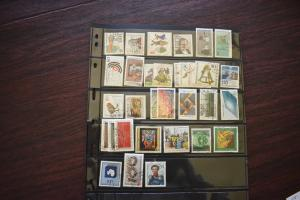 GERMANY COLLECTION 1981 YEAR SET  USED  CAT VALUE OVER 18.00