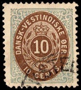 Danish West Indies Scott 10 Used.