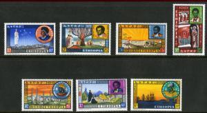 ETHIOPIA  396-402 MNH SCV $8.90 BIN $5.50