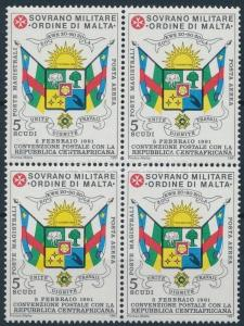 Sovereign Military Order of Malta stamp Coat of arms of South Africa WS220227