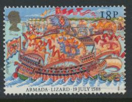 Great Britain SG 1400  Used   - Spanish Armada