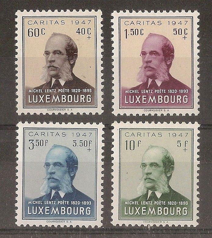 Luxembourg 1947 Fund SG502-505 Mint Cat£23