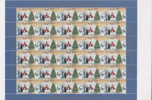 Greenland 2003 Mint Never Hinged Christmas Stamps Sheet ref R17542