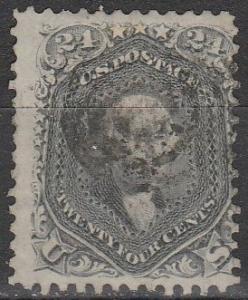 US #78b Fine Used CV $450.00 (D2180)