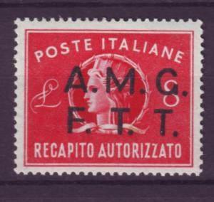 J12154 JL stamps 1947 italy trieste mlh #ey2 ovpt $14.50 scv