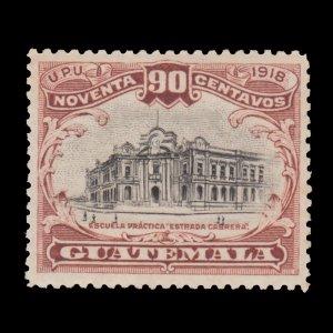 GUATEMALA STAMP 1919 SCOTT # 164. UNUSED.