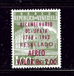 Venezuela C807 MNH 1962 overprint