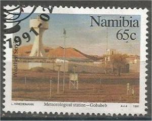 NAMIBIA, 1991, used 65c, Weather, Scott 693