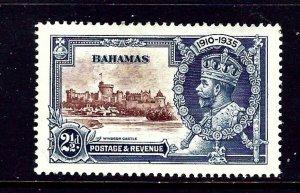 Bahamas 92 MH 1935 KGV Silver Jubilee
