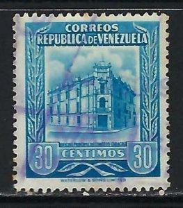 VENEZUELA 665 VFU T383-1
