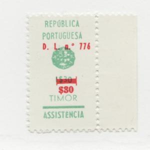 TIMOR Sc# RA20 * MH stamp