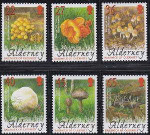 Alderney 221-226 MNH (2004)