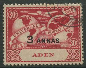 STAMP STATION PERTH Aden #33 UPU Issue 1949 Used CV$1.60.