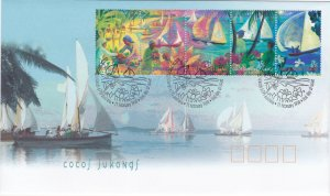 Cocos Islands # 330, Hari Raya Festival, First Day Cover