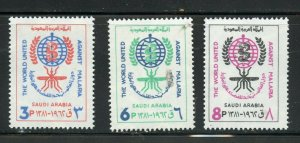SAUDI ARABIA SCOTT# 252-254  MINT NEVER HINGED AS SHOWN