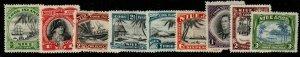 NIUE SG89/97 1944-6 DEFINITIVE SET MTD MINT