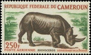 Cameroun 1964 Sc C51 Rhino CV $10