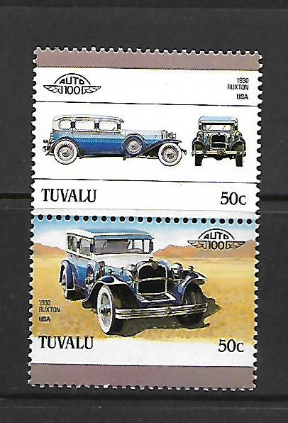 TUVALU, 393, MNH, AUTOMOBILE TYPE
