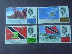 TRINIDAD & TOBAGO # 119-122-MINT NEVER/HINGED--COMPLETE SET--1966