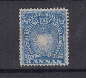 British East Africa 1891 8 Annas MH JK2427