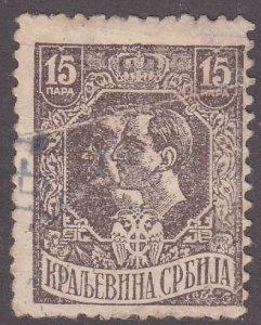 Serbia 159 King Peter & Alexander 1918