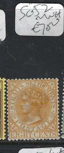 MALAYA STRAITS SETTLEMENTS (P0302B)  QV 8C  SG 52   MNH